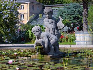 Sculpture in Botanischer Garten Karlsruhe, Germany