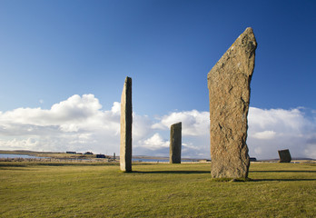 Neolithic standing stone circle