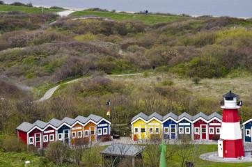 Germany - Helgoland - Resort of cottages