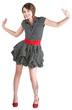 Dancing Woman in Mini Skirt