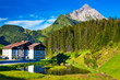 Alps summer landscape