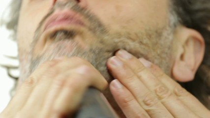 electric razor close up