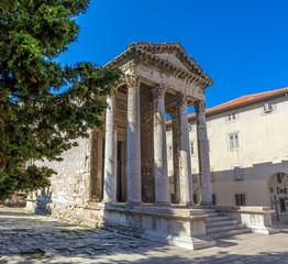 Roman temple - Pula