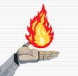 Robot Fire Hand