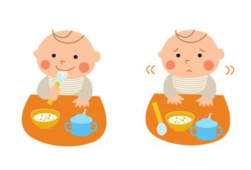 赤ちゃんの食欲