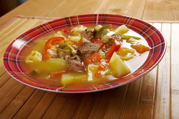beef soup Lecho
