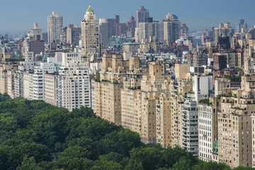 Central Park at 5 th avenue in New York City, Manhattan