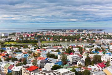 Capital of Iceland, Reykjavik, view