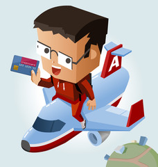 Easy travelling with credit card