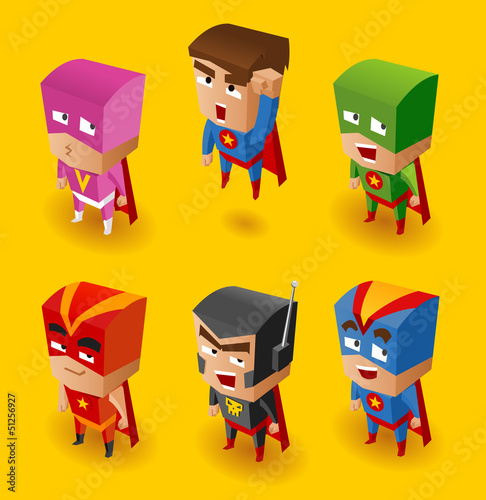 Superhero Set