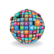 Sphere from Apps Icons Vector
