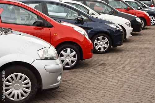 canvas print picture Used car sales