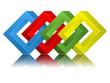 Vierecke Logo