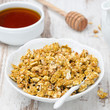 pumpkin granola and honey
