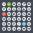 Set Of Icons For Business, Fin...