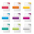 Dateisymbole - Papierblätter - Icons
