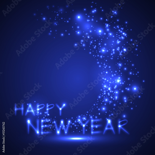 happy new year. holiday background