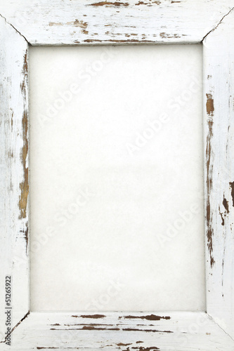 canvas print picture Empty wood frame