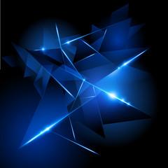 Fractured Light vector illustration