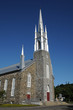 Quebec, the historical church of L Isle Verte