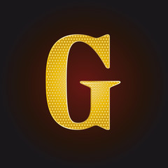 G vergoldet