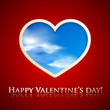 happy valentine's day. holiday background with heart
