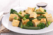 fried tofu and vegetables