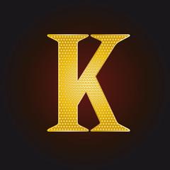 K vergoldet