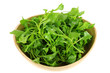 A Bowl of Fresh Watercress (Nasturtium officinale)