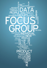 "Word Cloud ""Focus Group"""