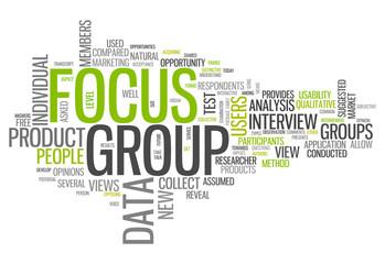 """Word Cloud """"Focus Group"""""""