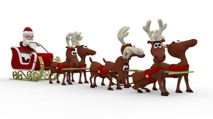 Santa's Lazy Deers