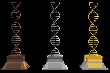 Dna trophies (3D)
