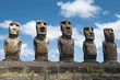 Ahu Tongariki, Easter island (Chile)