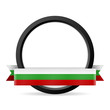 button mit banner bulgarien I