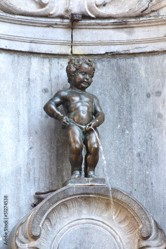 Papiers peints Fontaine Bruxelles - Manneken-Pis