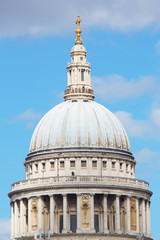 The dome of St.Pauls Cathedrale