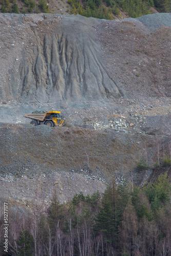 Transport im Steinbruch