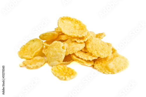 Leinwandbild Motiv Corn Flakes