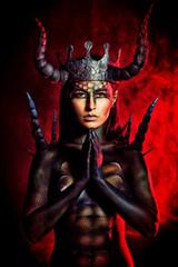 horns evil