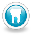 "Light Blue Icon ""Dental Medicine / Dentistry"""
