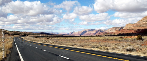 Panorama of Highway @ Americas West