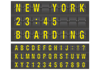 Airport alphabet