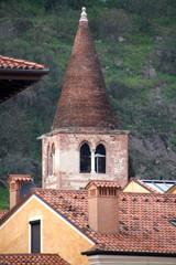 campanile di antica chiesa a Marostica - Sant'Antonio Abate