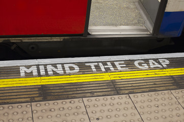 Tube Mind The Gap