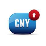 CNY currency - Chinese Yuan Renminbi poster