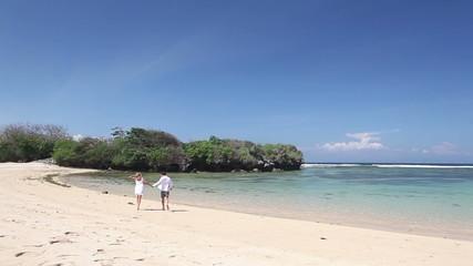 Fun on island