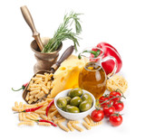 Italian cuisine. Pasta ingredients