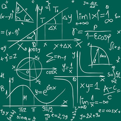 Math Background Pattern