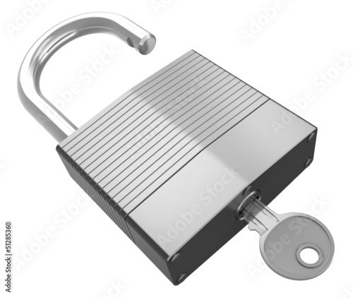 isolated lock with key